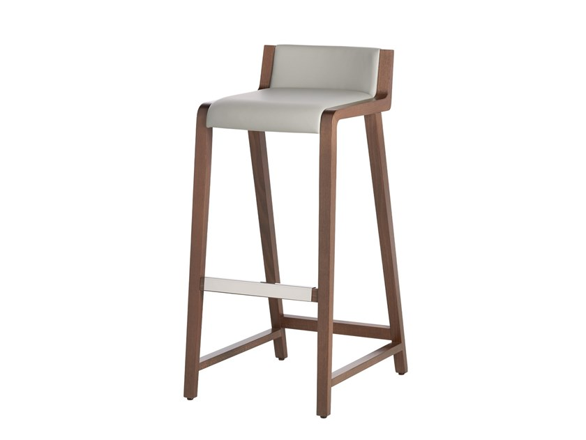 Stool with footrest LINUS | Stool by Potocco