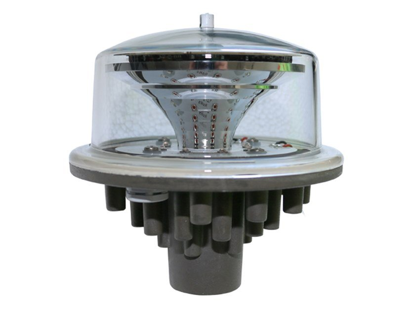 LED Aircraft warning light LIOL GRUPPO B-CAP 168 by LUXSOLAR by C&E GROUP