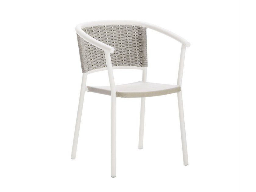 Garden chair with armrests LIPARI | Garden chair by Roberti Rattan