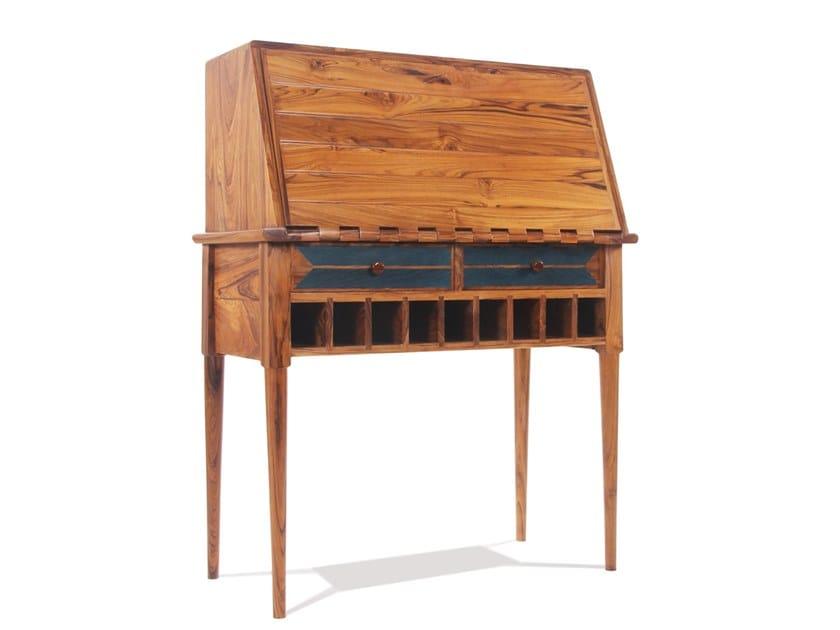 Wooden secretary desk LIPIKA by ALANKARAM