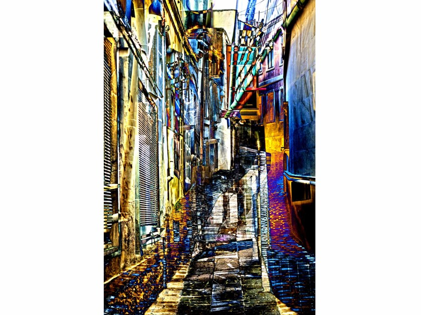 Photographic print LIQUID ALLEY - FINE ART PHOTOGRAPHY by 99 Limited Editions