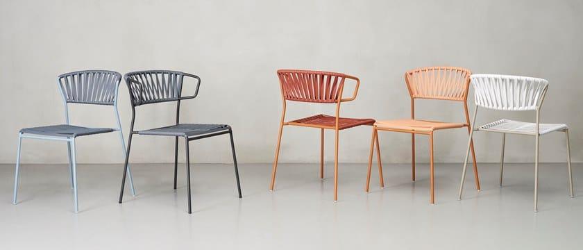 Sedie Da Esterno Design.Sedia Da Giardino Lisa Club Scab Design
