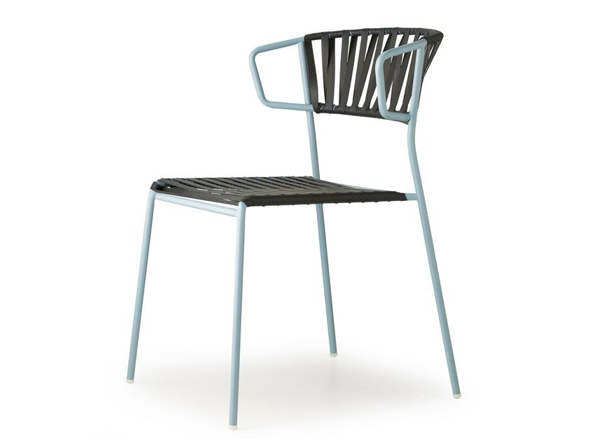 Steel and PVC chair LISA CLUB by SCAB DESIGN