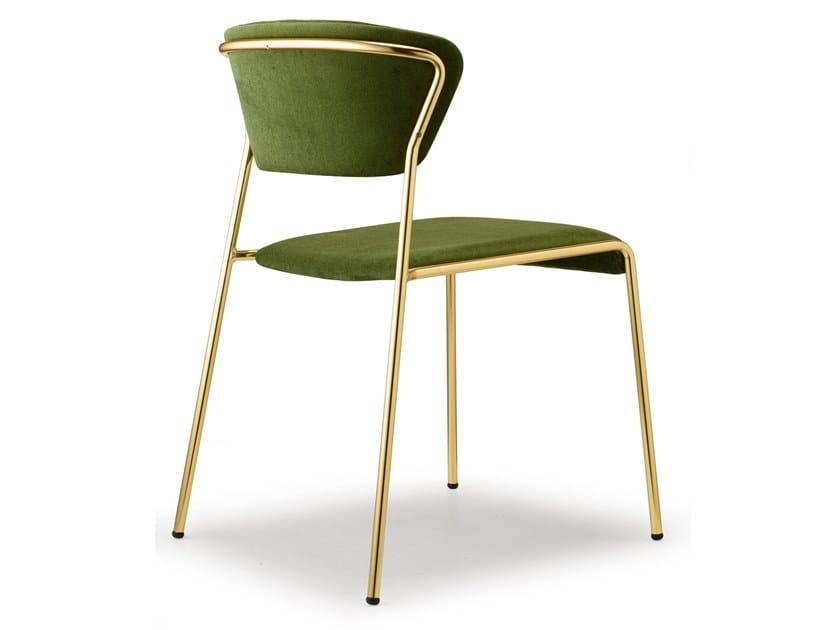 Sedia Imbottita Design : Sedia imbottita in tessuto lisa sedia in tessuto scab design