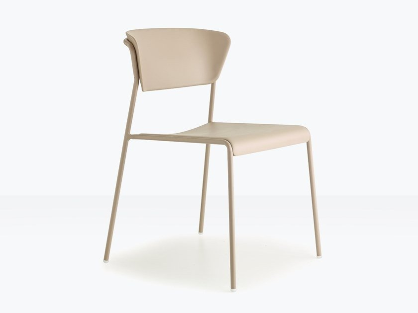 Stackable technopolymer chair LISA TECHNOPOLYMER | Chair by SCAB DESIGN