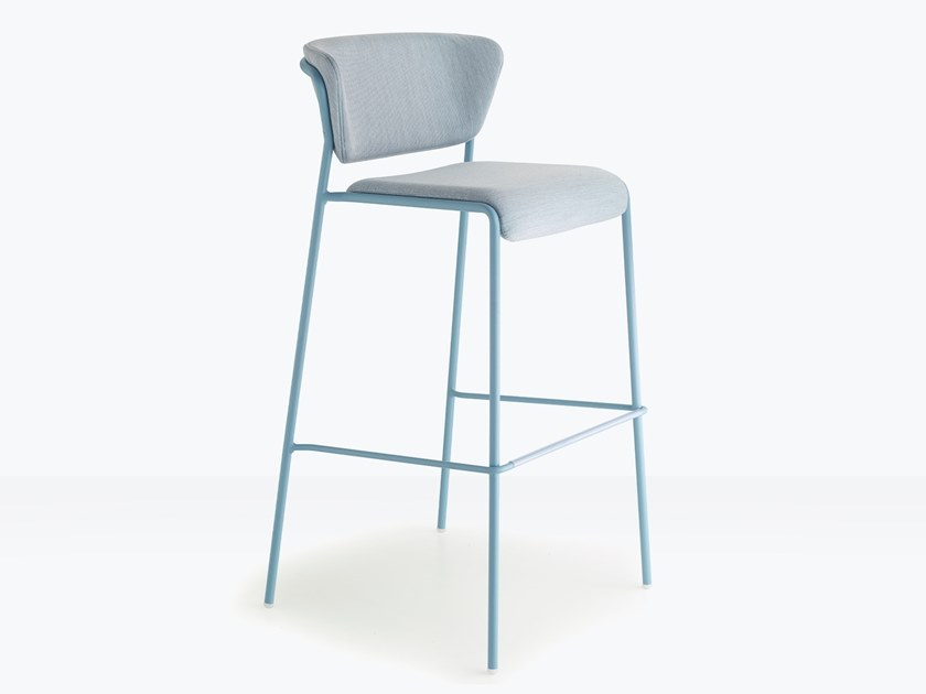 High fabric stool for outdoor use LISA WATERPROOF   Stool by SCAB DESIGN