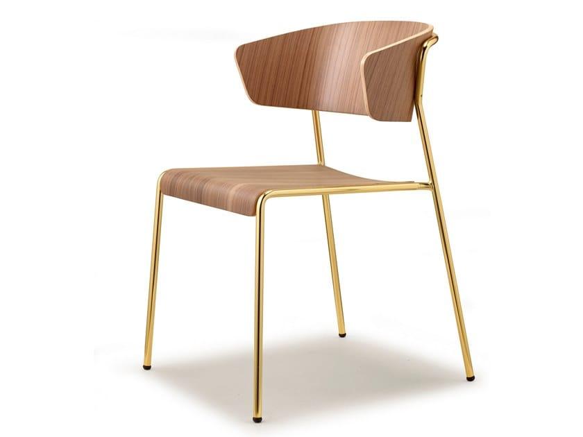 LISA WOOD | Sedia in legno