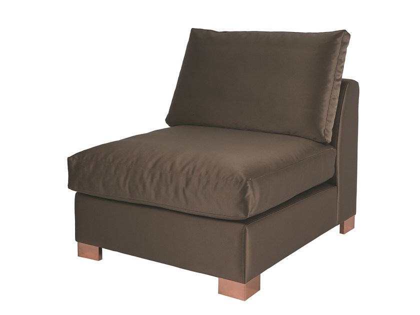 Fabric armchair LISBOA by Branco sobre Branco