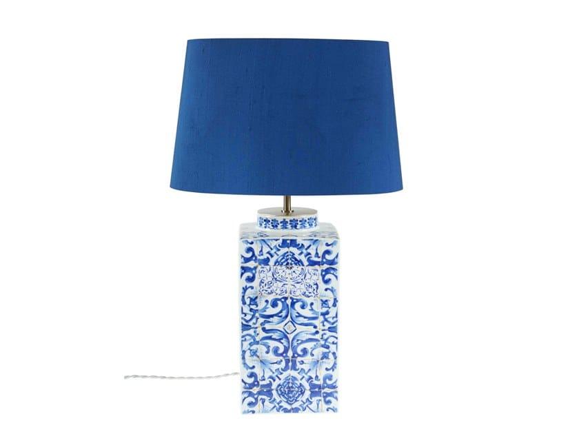 Porcelain table lamp LISBON TILES | Table lamp by Vista Alegre