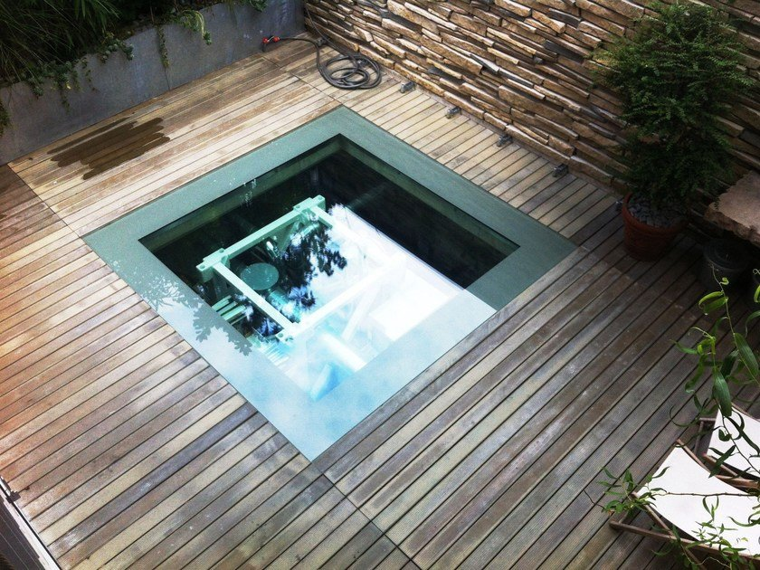 Adaxite decking LISTOTECH FLOOR by LISTOTECH DECKING QUARTZ