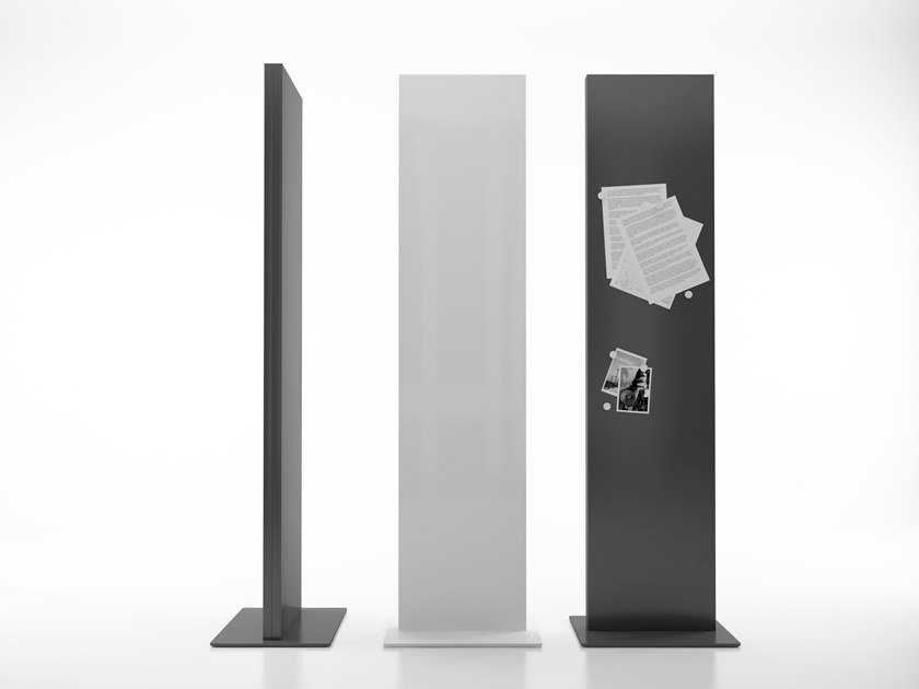 Steel Screen Display Unit LIT By Systemtronic Design Pablo Gironés - Lit metal design