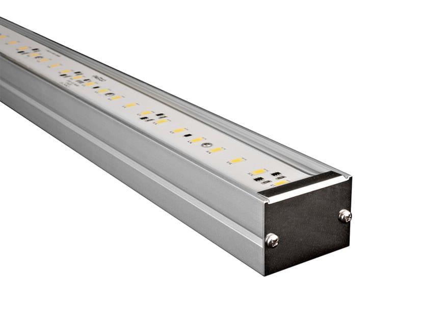 Outdoor aluminium LED light bar LITEO by Aldabra