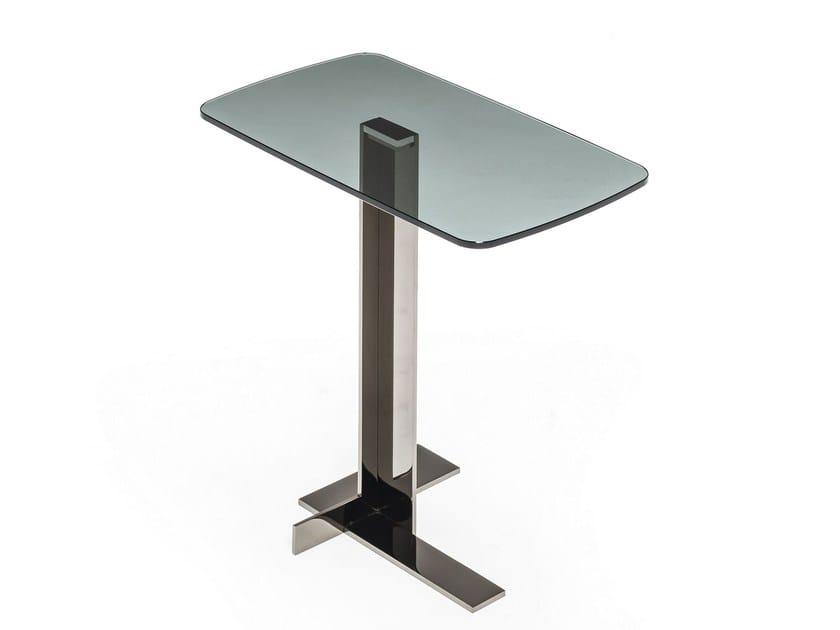 LITH Glass coffee table By Arketipo design Mauro Lipparini