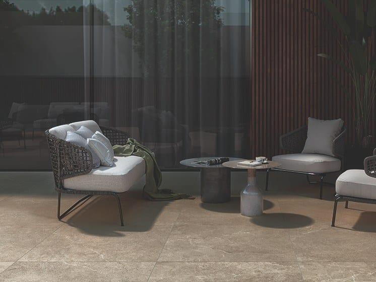 Pavimento/rivestimento in gres porcellanato effetto pietra LITHOS STONE by COTTO D'ESTE