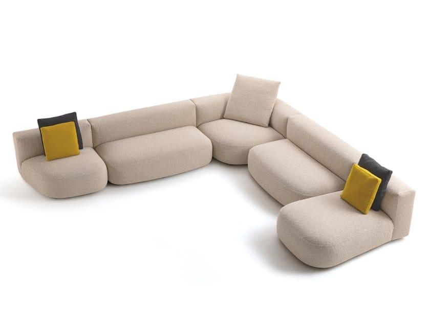 Divano modulare sfoderabile LITOS by Cappellini