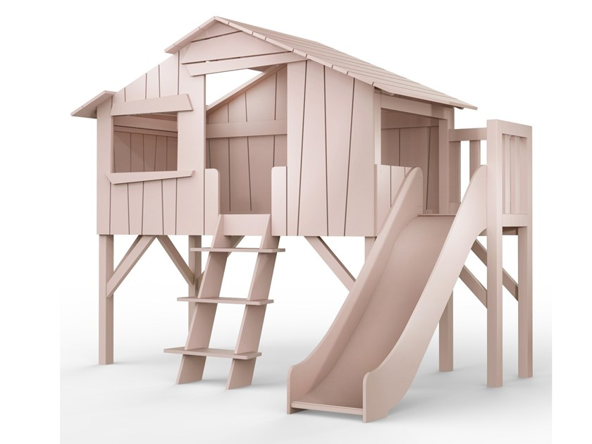 Letti A Soppalco Per Bambini Con Scivolo.Lits Cabanes Letto A Soppalco By Mathy By Bols Design Francois