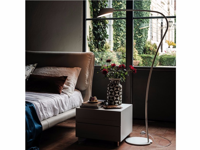 Steel floor lamp LITTLE FLAG by Cattelan Italia