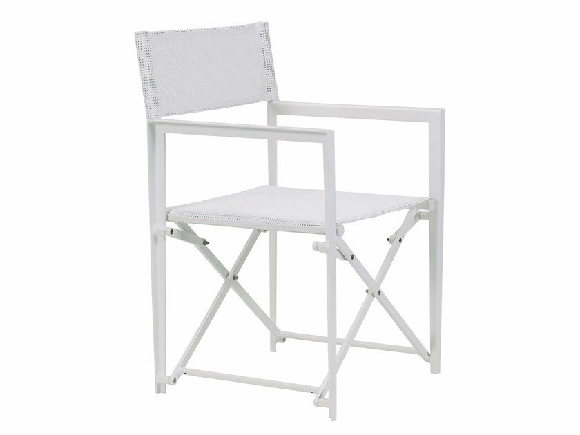 Folding garden chair with armrests LITTLE-L   Folding chair by ROYAL BOTANIA