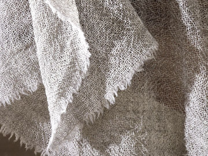 Solid-color wool blanket LITTLE by Society Limonta