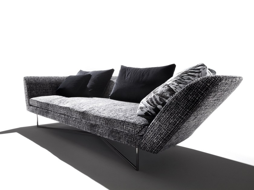 Fabric sofa LITTLE WING by ERBA ITALIA