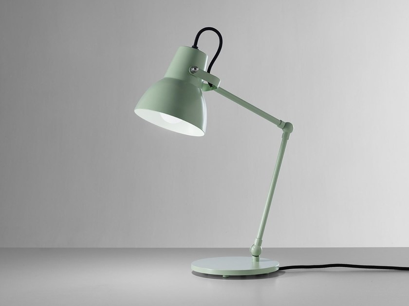 LED adjustable thermo lacquered aluminium table lamp LITTLE BIG M by Exporlux