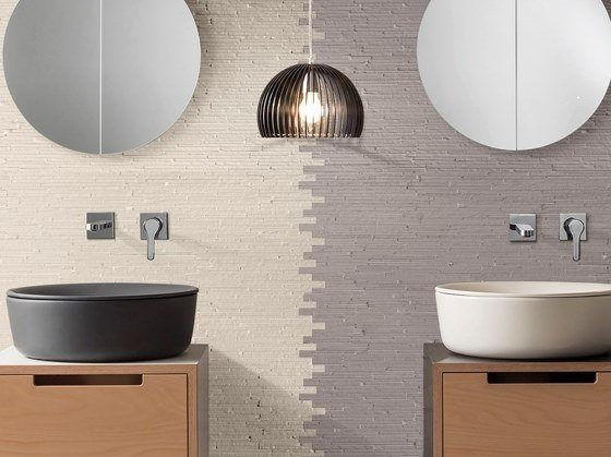 Natural stone mosaic LIVING by BOXER
