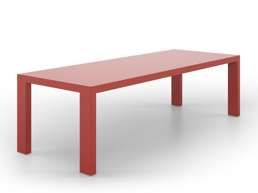 Rectangular table LIVING by De Rosso