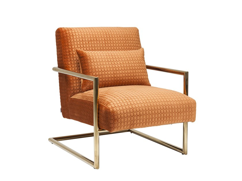 Armchair with armrests LIVING VEGAS by KARE-DESIGN