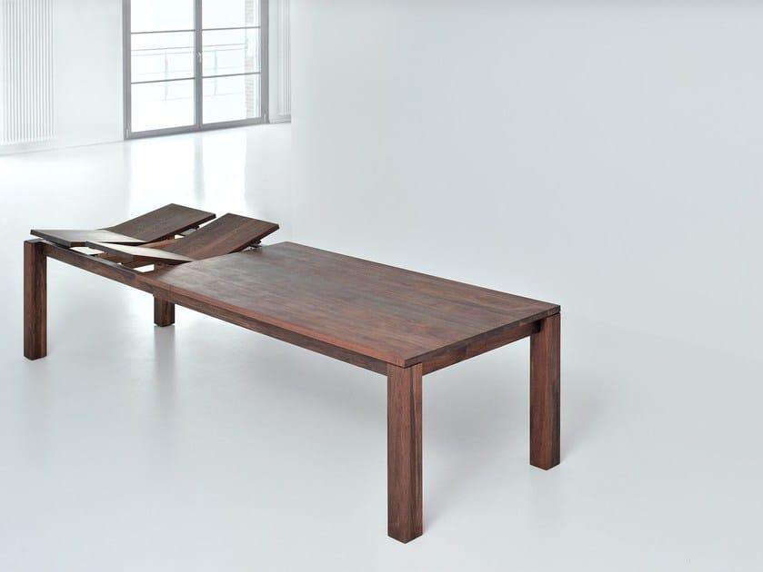Favorito Tavolo allungabile rettangolare in legno massello LIVING By  XM16