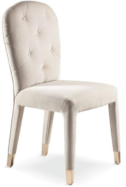 Upholstered velvet chair LIZ | Chair by Cantori