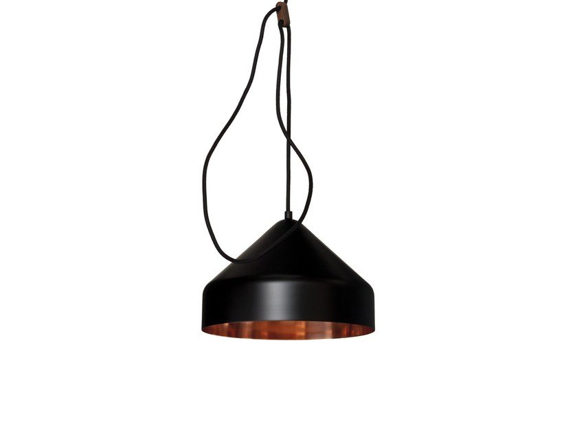 Copper pendant lamp LLOOP | Copper pendant lamp by Vij5