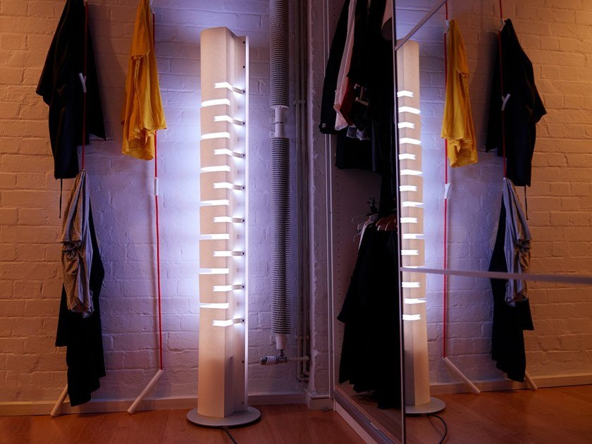 LED floor lamp LLOYDS TOWER by SMALL RABBIT DESIGN