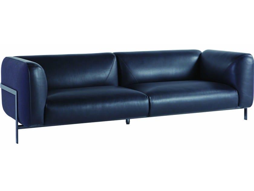 Cowhide Sofa Lobby By Roche Bobois Design Cédric Ragot