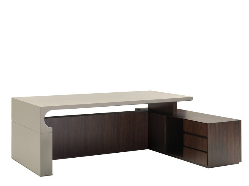 Executive desk with drawers LOCK 225 by Smania