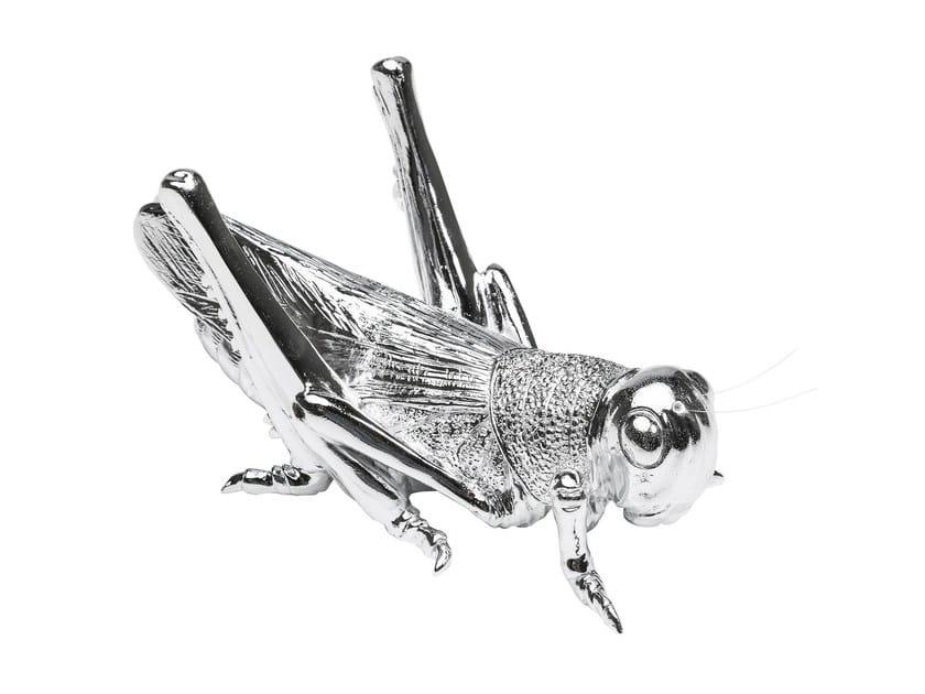 Soprammobile in resina LOCUST CHROME by KARE-DESIGN