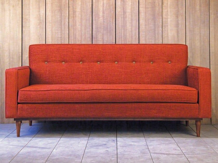 Velvet sofa LOD | 3 seater sofa by Kann Design