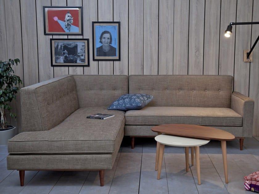Corner fabric sofa LOD Corner Sofa by Kann Design