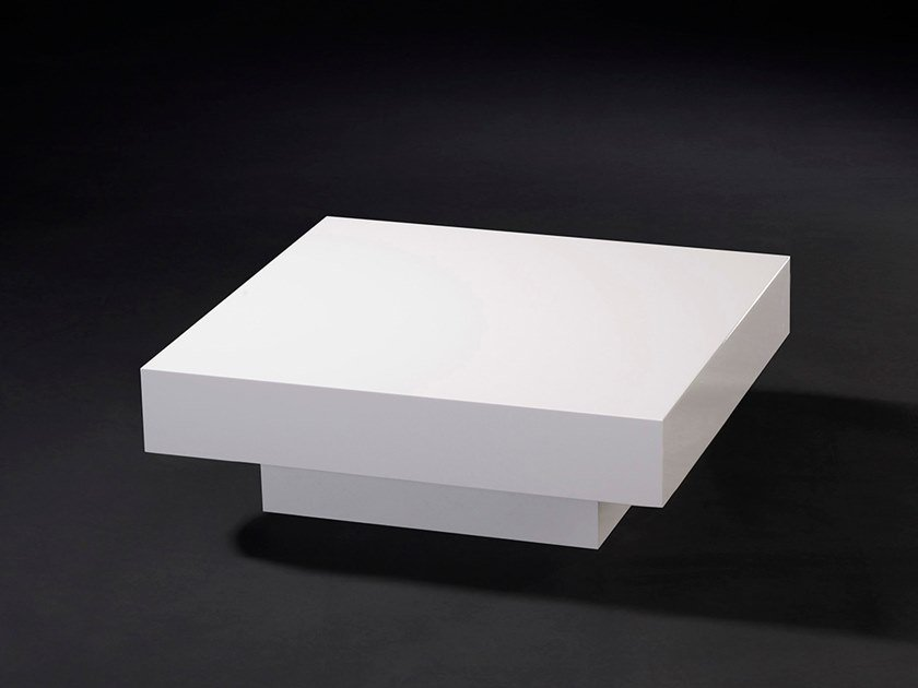 Low lacquered square coffee table LOFT CADEAU by VGnewtrend