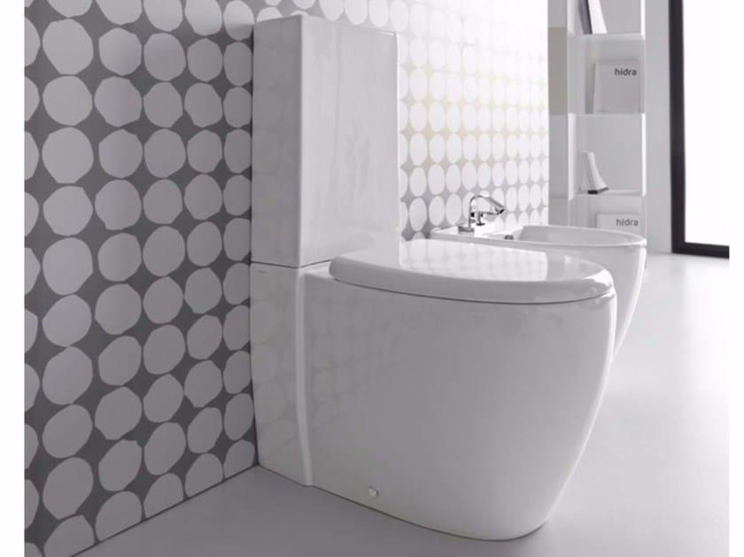 Close coupled ceramic toilet LOFT | Close coupled toilet by Hidra Ceramica