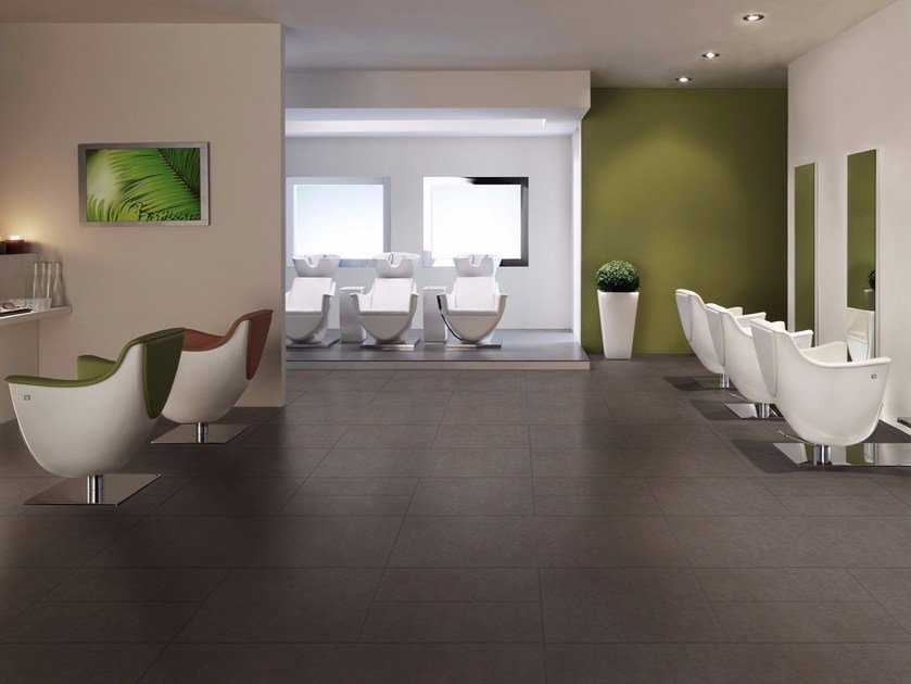 Wand  Und Bodenbelag Aus Keramischer Granit Mit Beton Effekt Für Innen/Außen  LOFT By ESTIMA CERAMICA