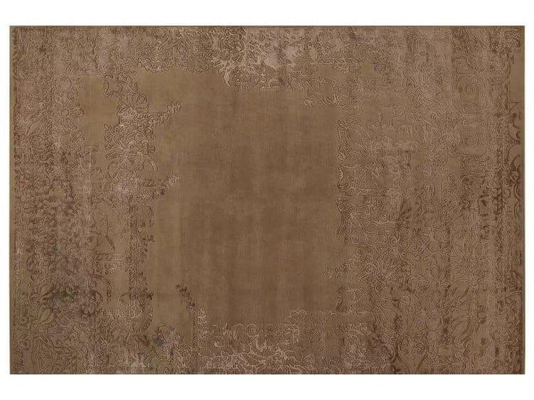 Handmade rectangular rug LOFT L84D by Mohebban