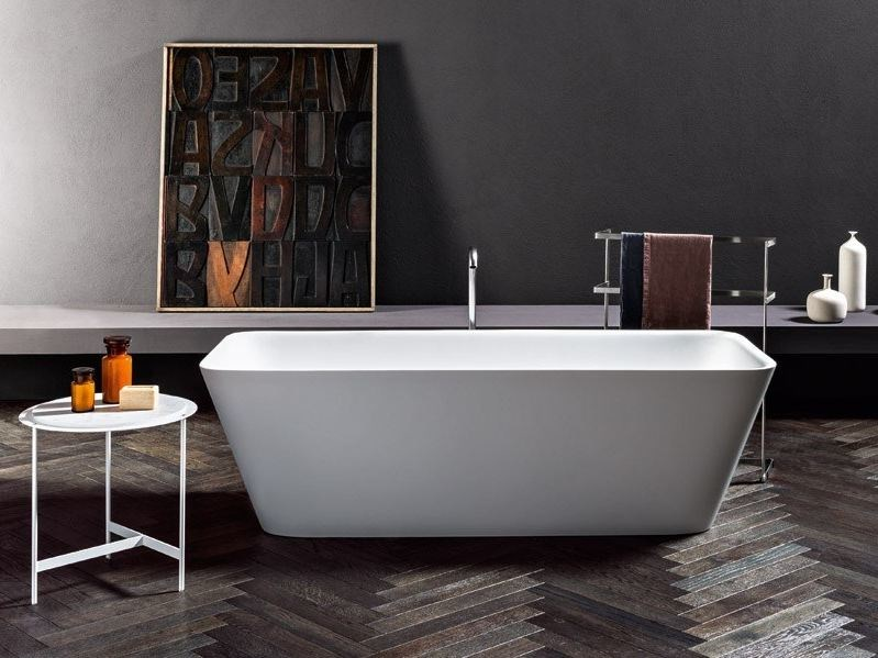 Vasca Da Bagno Con Rubinetteria Integrata : Vasca da bagno centro stanza loft makro