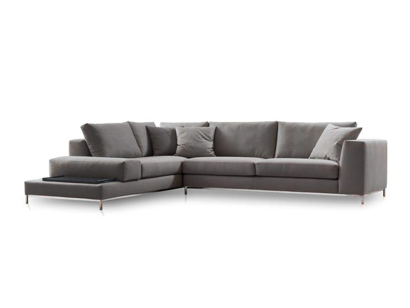 Corner fabric sofa LOFT by Papadatos