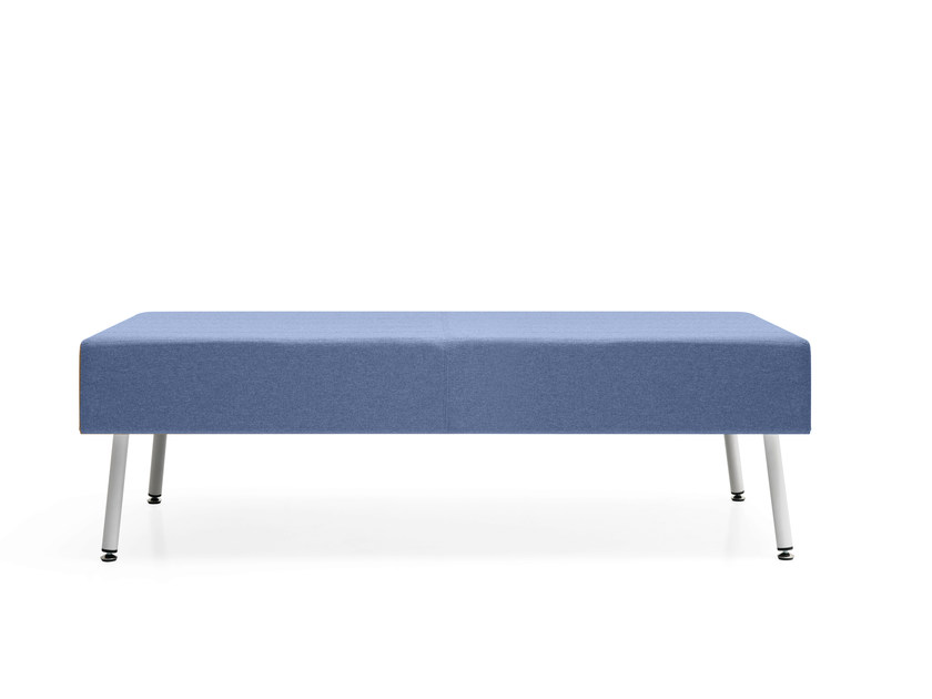 Backless fabric bench seating LOFT 2.0 | Bench seating by Quinti Sedute