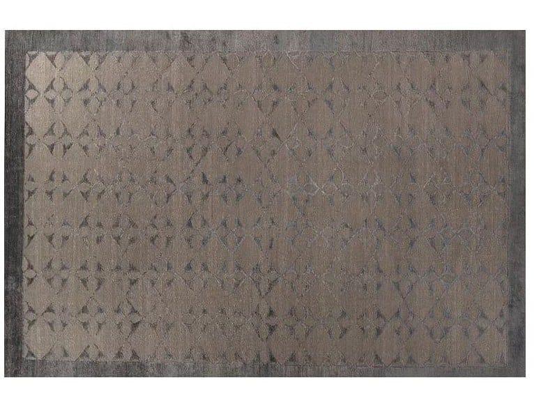 Handmade Bamboo silk rug LOFT S103A by Mohebban
