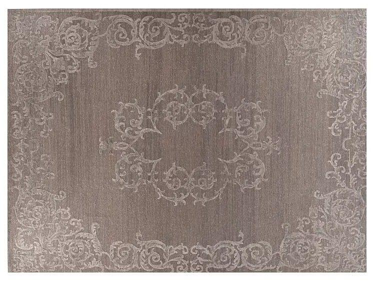 Patterned handmade Bamboo silk rug LOFT S110B by Mohebban