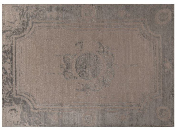 Patterned Bamboo silk rug LOFT S97C by Mohebban