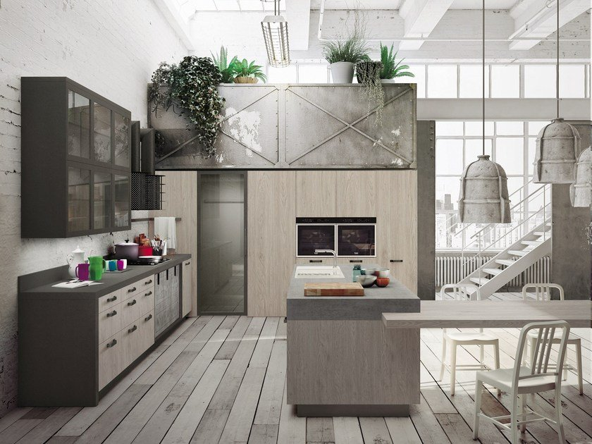 LOFT | Kitchen with island SISTEMA Collection By Snaidero design ...