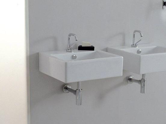 Ceramic washbasin LOFT | Wall-mounted washbasin by Hidra Ceramica