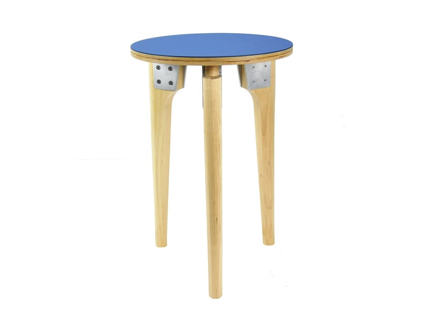 Round side table LOFTED ROUND | Side table by KHEM Studios